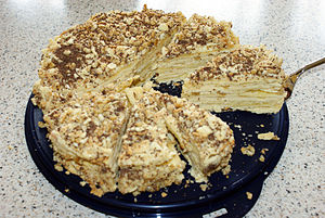 Mille-feuille - Russian Napoleon cake