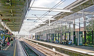 London Underground and railway station in the London Borough of Haringey