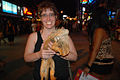 Tourist with an Iguana, Bangla Rd – Phuket (3049016243).jpg