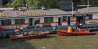 E-class lifeboat - Image: Tower E 002 Olivia Laura Derane and E 07 Hurley Burly
