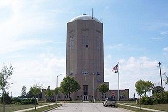 Lake, Milwaukee County, Wisconsin - Town of Lake Water Tower