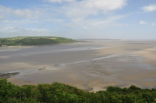 Towy Estuary from Llansteffan Castle (5987)