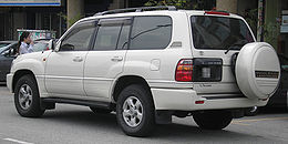 Toyota Land Cruiser (eighth generation) (100) (rear), Serdang.jpg