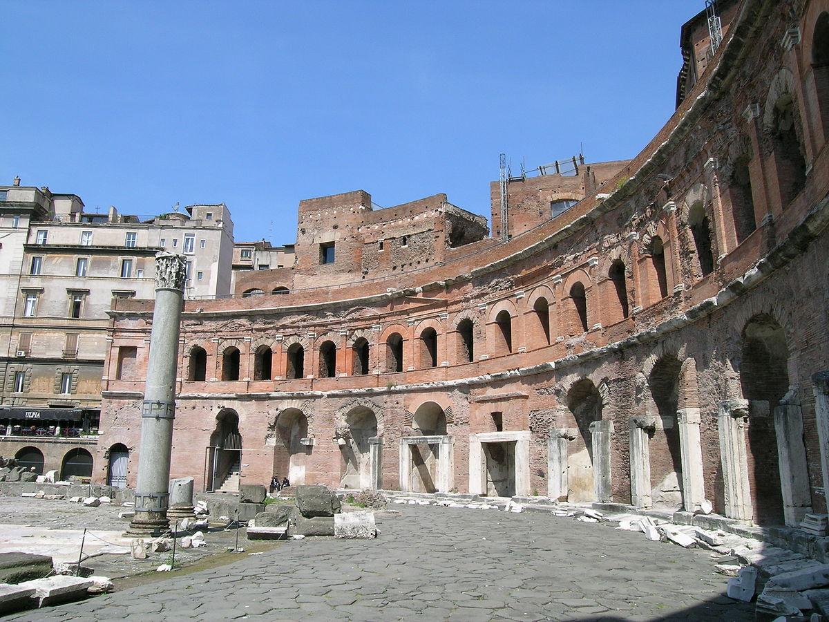 Trajan's Market - Wikipedia