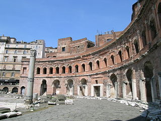 Trajans Market ruins