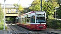 Tram at Woodside - geograph.org.uk - 1188243.jpg