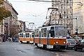 Tram in Sofia near Macedonia place 2012 PD 075.jpg
