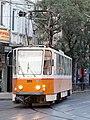 Tramway in Sofia in Alabin Street 2012 PD 036.jpg