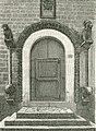 Trani porta della chiesa di San Giacomo xilografia di Barberis 1898.jpg