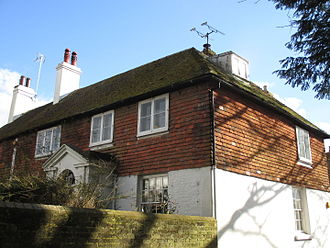 The Malay Archipelago - Treeps, Hurstpierpoint, the house where The Malay Archipelago was largely written