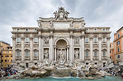 How to get to Fontana Di Trevi with public transit - About the place