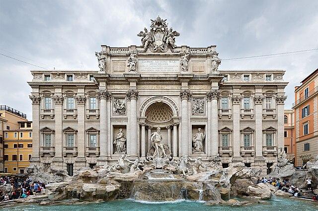 Fontana di Trevi. Fuente: Wikipedia