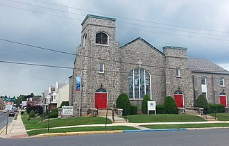Topton, Pennsylvania - Trinity Evangelical Lutheran Church in Topton, 2015