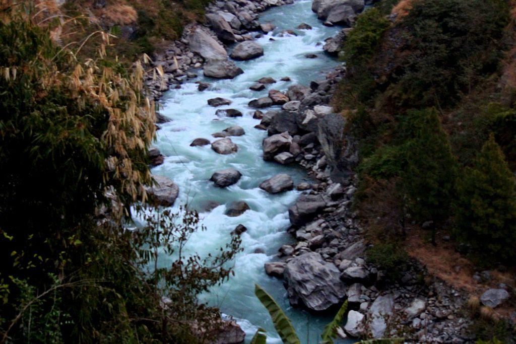 Trisuli River in Rasuwa