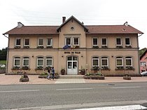 Troisfontaines (Moselle) mairie.jpg