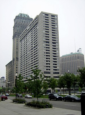 Detroit City Apartments - Image: Trolley Plaza apts Detroit