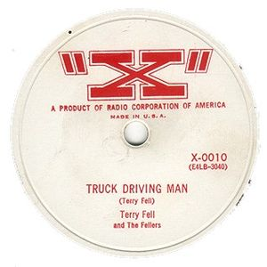 "Terry Fell - ""Truck Drivin Man"" record"