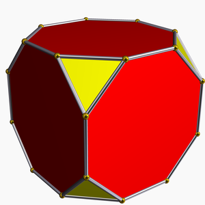 Truncation (geometry) - Image: Truncated hexahedron
