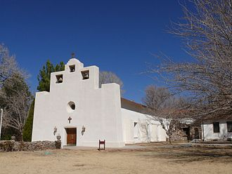 Tularosa, New Mexico - Saint Francis of Paula church