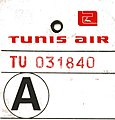 Tunisair bag tag TU 031840 02.jpg