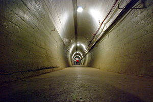 Wrights Hill Fortress - Inside the fortress tunnels