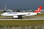 Turkish Airlines Cargo, TC-JOU, Airbus A330-243F (17694554734) (2).jpg