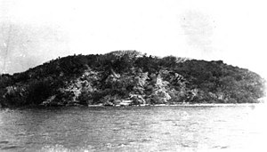 Turtle Mound - A photo of Turtle Mound in 1915