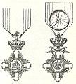 Twee ridderkruisen van de Ster van Roemenie.jpg