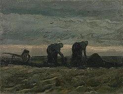 Vincent van Gogh: Women on the Peat Moor