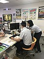 Two Officers of Chunghwa Telecom Working at Minsheng Service Center 20180515.jpg