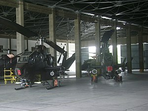 Pakistan Army - Two AH-1S Cobra attack helicopters of the Pakistan Army Aviation Wing at AVN Base, Multan. These were sold to Pakistan by the US during the Soviet-Afghan war to help defend Pakistan against a possible attack by the Soviets.