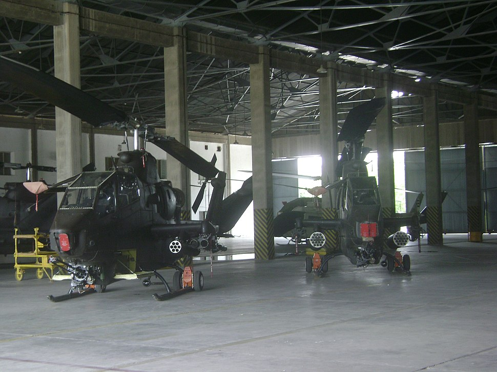 Two cobra helicopters at Multan