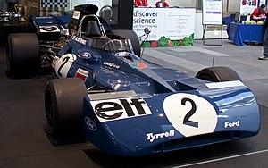 Tyrrell 003 - Image: Tyrrell 003