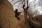 U.S. and Coalition Forces Mentor Afghan National Army in Dismount Patrol DVIDS251837.jpg