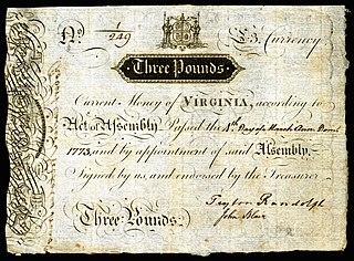currency of Virginia until 1793