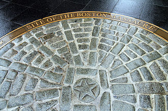 Boston Massacre - Massacre site