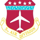 The 5th Air Division (5th AD) is an inactive United States Air Force