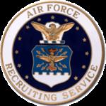 USAF Basic Recruiter Badge