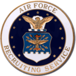 U.S. Air Force Basic Recruiter Badge