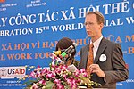 USAID Mission Director Joakim Parker speaks at the Social Work Day event in Hanoi (8168696661).jpg