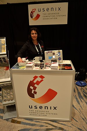 USENIX - USENIX booth at Linuxcon 2016