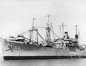 USS Achernar (AKA-53) - Image: USS Achernar