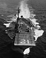 USS Hornet (CVS-12) underway at sea on 9 August 1968 (USN 1116887).jpg