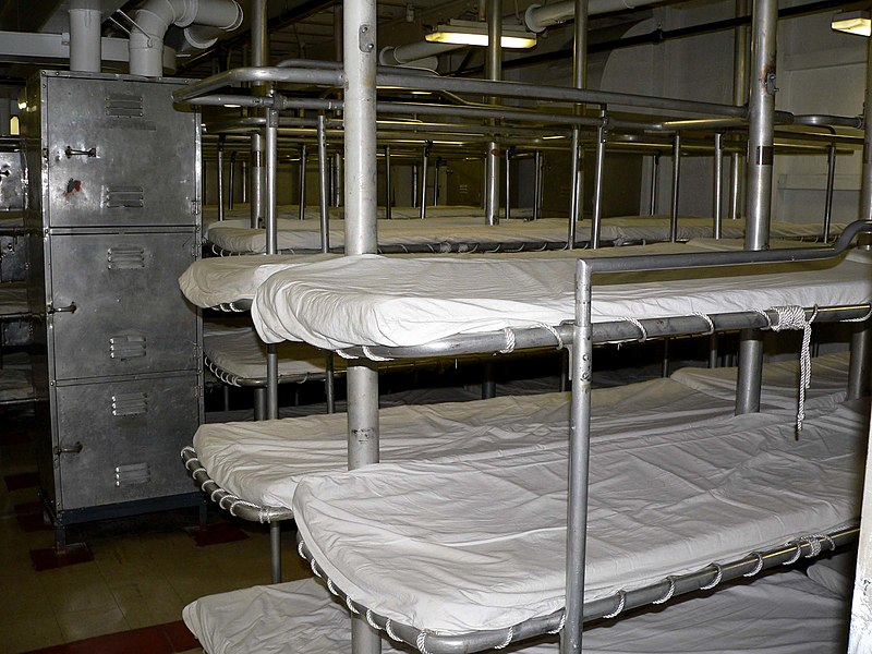 File:USS Hornet enlisted bunks.jpg