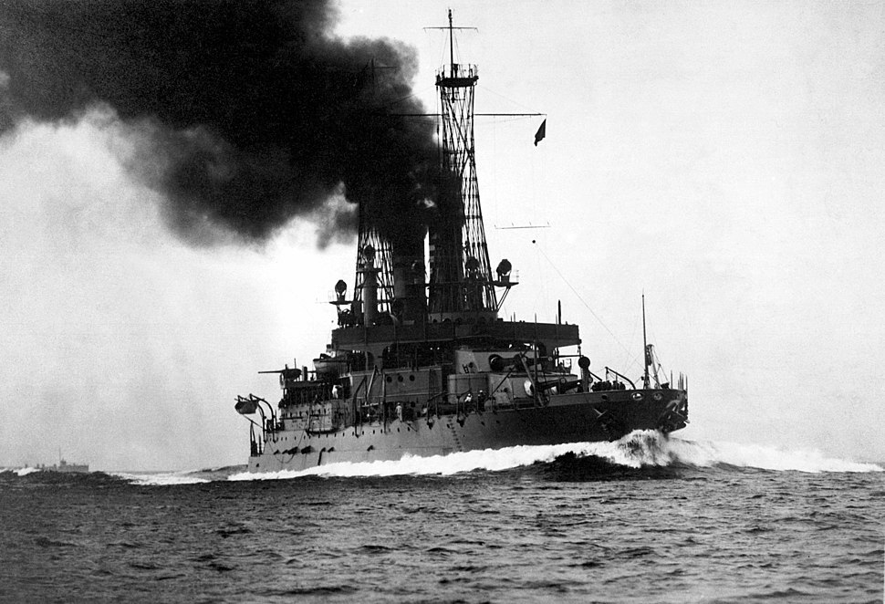 USS Michigan (BB-27) 1918