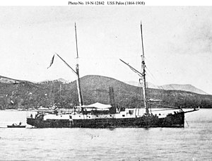 USS Palos (1865) - Image: USS Palos (1865)