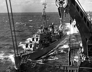 USS Robert H McCard (DD-822) underway 1961.jpg