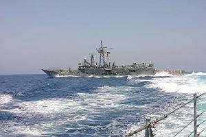 USS RobertsFFG;high speed2