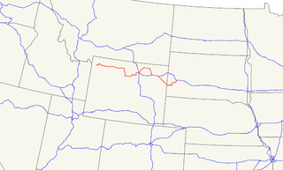 U.S. Route 16 highway in the United States