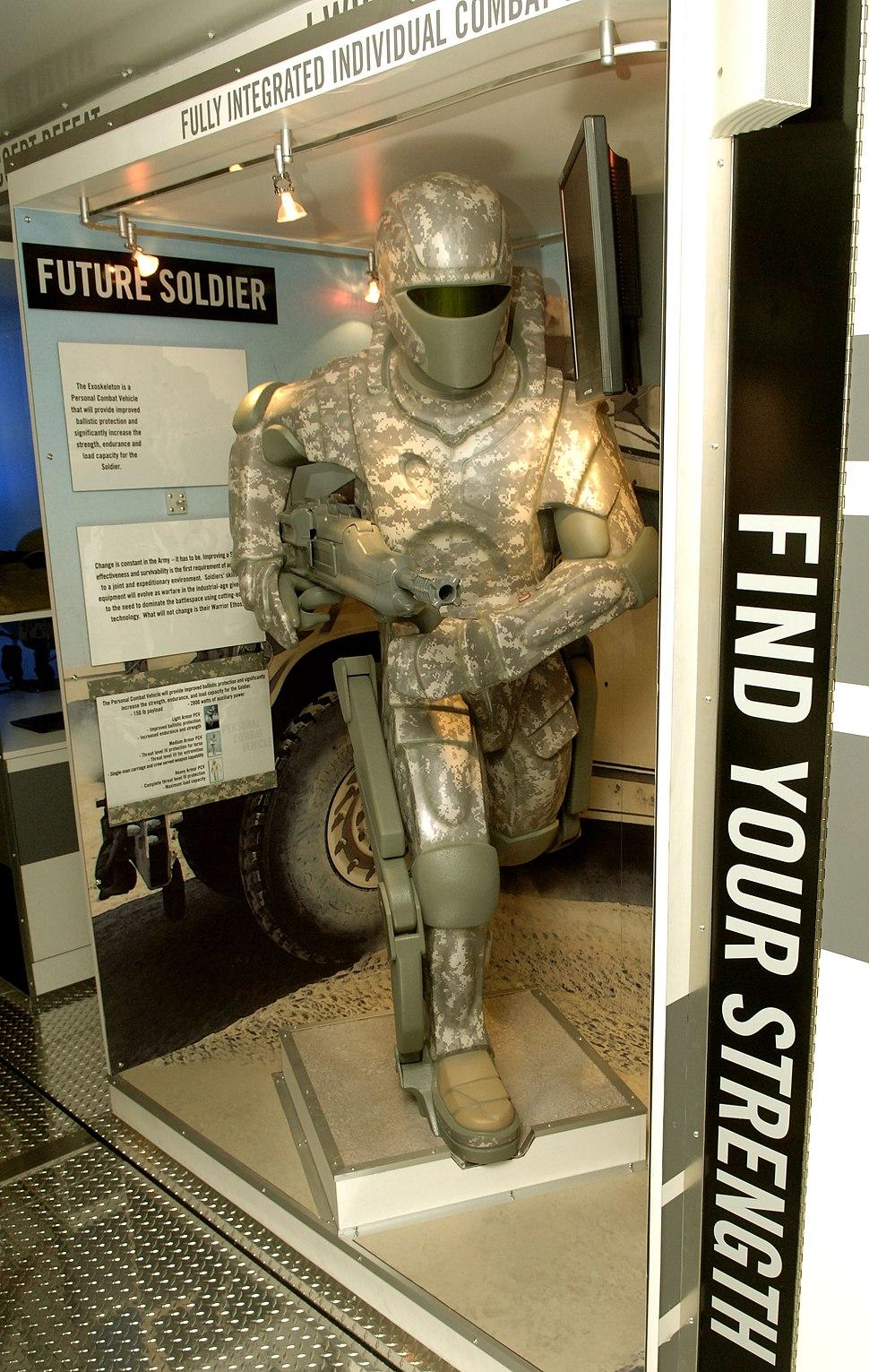US Army powered armor